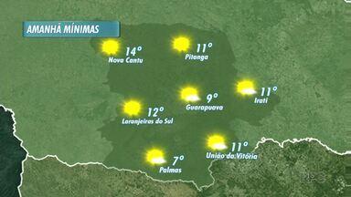 Veja como fica o tempo no domingo - O sol deve brilhar forte em toda a região