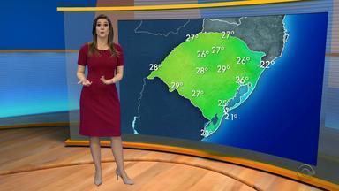 Tempo: domingo (11) será de sol e calor no RS - Assista ao vídeo.