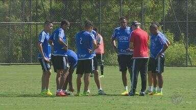 Ponte Preta enfrenta o América-MG e Eduardo Baptista pede respeito ao adversário - Mesmo enfrentando o último colocado do Campeonato Brasileiro, técnico da Ponte Preta não quer apostar no favoritismo para vencer a partida.