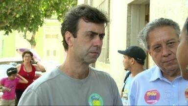 Marcelo Freixo (PSOL) faz campanha em São Cristóvão - Marcelo Freixo (PSOL) faz campanha em São Cristóvão.