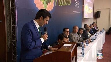 Ministro da Integração Nacional analisa programa de gestão do Rio São Francisco, em BH - Helder Barbalho esteve em Belo Horizonte, onde participou de uma reunião do Comitê da Bacia do Rio São Francisco.