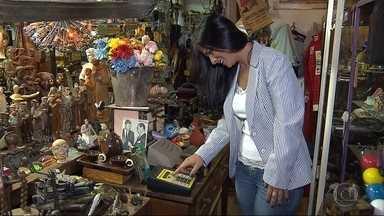 Museu do Cotidiano, em Belo Horizonte, reúne vários objetos usados no dia a dia - O museu é inusitado e tem entre os objetos expostos chuveiro, telefone, peças que guardam muitas histórias.