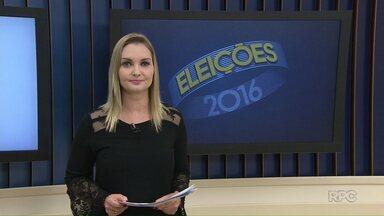 Veja a agenda dos candidatos a prefeito para o aniversário de Ponta Grossa - O Paraná TV está acompanhando os compromissos dos candidatos