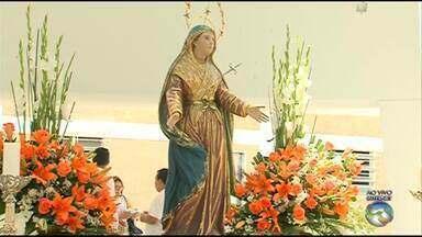 Programação religiosa é realizada durante o dia da padroeira de Caruaru - Dia de Nossa Senhora das Dores é comemorado em 15 de setembro.