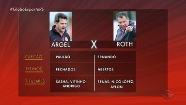 Inter de Celso Roth reencontra Argel, no Beira-Rio, nesta quinta (15) - Argel faz sua estreia pelo Vitória, adversário do Inter na luta contra o rebaixamento.