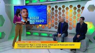 Diogo Olivier e Maurício Saraiva discutem qual deve ser o perfil do novo técnico do Grêmio - Antonio Carlos Zago, Eduardo Baptista e Milton Mendes são nomes elogiados.