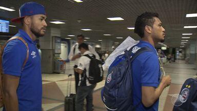 Bahia volta para Salvador após derrota para o Paysandu e já pensa no jogo de sábado (17) - Time se prepara para enfrentar o Goiás na Arena Fonte Nova.