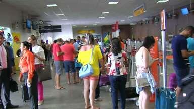 Confira o movimento de turistas no aeroporto de Santarém para o Sairé 2016 - Movimento de turistas foi grande nesta quinta-feira no Aeroporto Maestro Wilson Fonseca.