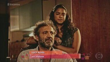 Lucy Alves comenta últimos momentos com Domingos Montagner - A atriz fala sobre o último dia do ator