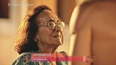Zezita Matos fala sobre amizade com Domingos Montagner - A atriz conta que era muito próxima ao ator e o considerava um filho