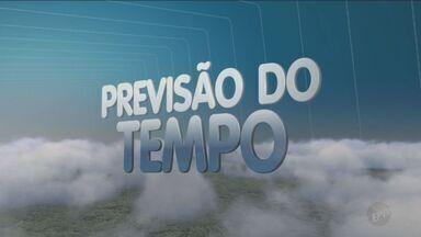 Previsão do tempo para este sábado é de chuva - Temperaturas em Campinas (SP) ficam entre 14°C e 30°C.