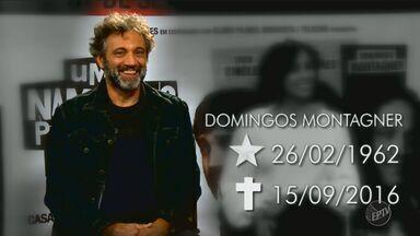 'Em Cena' homenageia o ator Domingos Montagner - Veja cenas inéditas da entrevista que Domingos deu para o programa.