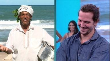 Vladimir Brichta relembra parte de sua infância na Bahia - Bem-humorado, o ator relembra fase da vida