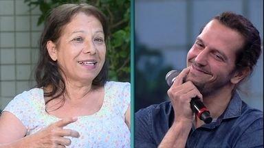 Ex-babá de Vladimir Brichta relembra travessuras do ator na infância - Ele fica comovido ao lembrar da ex-babá