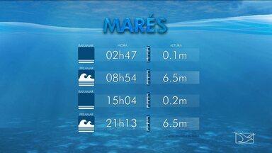 Veja a variação da maré para esta segunda-feira (19) em São Luís, MA - Veja a variação da maré para esta segunda-feira (19) em São Luís (MA).