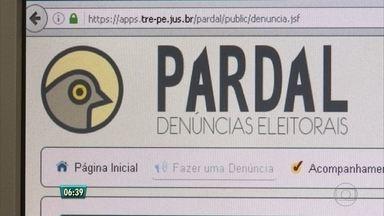 Aplicativo do TRE ajuda população a fiscalizar campanha eleitoral - Eleitores podem fazer denúncias de irregularidades pelo app 'Pardal'.