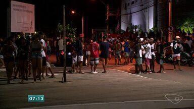 Suspeitos armados fazem arrastão na Pedra da Cebola, em Vitória - Vítimas contaram que criminosos estavam nervosos e faziam ameaças.Polícia foi chamada para reforçar a segurança no parque; ninguém foi preso.