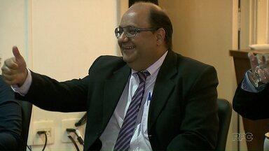 Luciano Odebrecht participa de debate entre candidatos - Confira como foi a agenda no candidato do PMN à prefeitura de Londrina nesta quinta-feira.