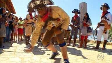Ator Domingos Montagner é homenageado por comunidades ribeirinhas de Sergipe e Alagoas - Ator Domingos Montagner é homenageado por comunidades ribeirinhas de Sergipe e Alagoas.