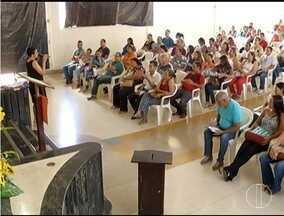 Mesários passam por treinamento em Montes Claros - Será a primeira vez que a cidade terá eleições por biometria.