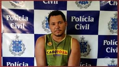 Homem é preso sob suspeita de estuprar as duas enteadas em Correntina, oeste do estado - Segundo a polícia, Edvaldo, Silva dos Santos foi denunciado por uma das jovens.