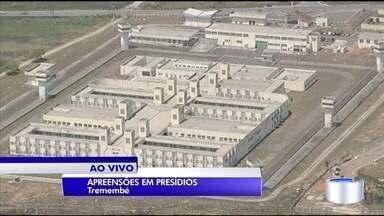 Aumenta número de apreensões nos presídios da região - Comparação é com relação a 2015.