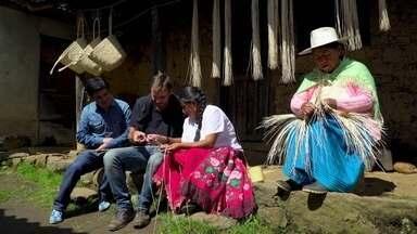 América do Sul Sobre Rodas: Cuenca - No Sobre Rodas de hoje o casal Max Fercondini e Amanda Richter vai descobrir o segredo do chapéu Panamá.