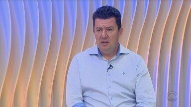 Prefeito eleito em Biguaçu fala sobre desafios e planos para a cidade - Prefeito eleito em Biguaçu fala sobre desafios e planos para a cidade