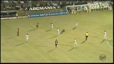 Botafogo-SP perde e dá adeus ao acesso à série B do Brasileiro - Disputa tumultuada contra o ABC de Natal terminou em 1 x 0.