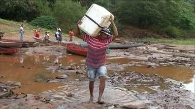Rio Tocantins chega ao nível mais baixo dos últimos nove anos - O Rio Tocantins corta quatro estados e o Distrito Federal. Os peixes sumiram. A navegação e a geração de energia estão prejudicadas.
