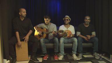 Banda Pier Vox apresenta trabalhos no JT 1ª Edição - Banda da região tem talento de sobra