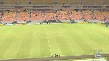 Vasco e Londrina jogam em Manaus pela série B do Brasileirão - Jogo terminou com vitória do Vasco.