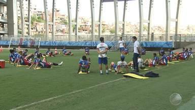 Bahia precisa vencer partida desta sexta (14) para voltar ao G-4 - Tricolor encara o Brasil de pelotas, na Fonte Nova.