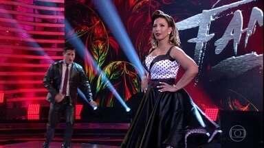 Valesca arrasa no rock do 'Dança dos Famosos' - Confira a apresentação da funkeira