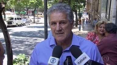 Candidato João Leite diz que se eleito vai apoiar atividades artísticas e culturais em BH - Candidato se encontrou com representantes de fundações.