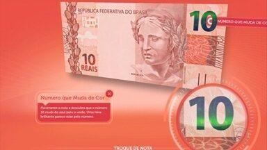 Saiba como identificar dinheiro falso e evitar golpes no comércio - Minas Gerais foi o terceiro estado onde mais circularam notas falsas, no ano passado, segundo o Banco Central.