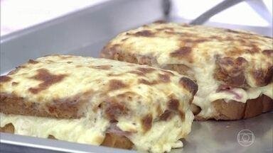 Creme de Queijo Versátil - Ana Maria ensina essa receita para fazer um sanduíche delicioso