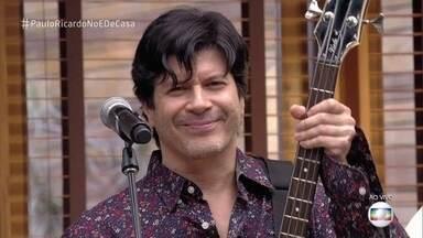 Paulo Ricardo abre o bloco com 'Alvorada Voraz' - Confira!