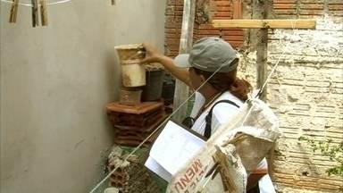 Birigui faz mutirão contra o mosquito Aedes aegypti - O período de chuvas começou e agora a preocupação com o mosquito da dengue aumenta e muito. Em Birigui (SP), neste sábado foi dia de combate ao Aedes aegypti. A cidade enfrentou epidemia este ano, com quase cinco mil casos da doença.