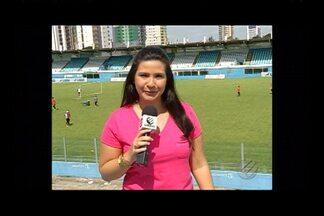 Flavia Araújo conta os detalhes do último treino do Papão - Flavia Araújo conta os detalhes do último treino do Papão