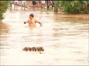 Temporal deixa vários estragos em Araguaína - Temporal deixa vários estragos em Araguaína