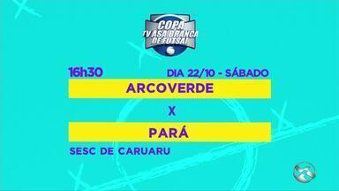 11ª Copa TV Asa Branca segue para o 3º dia de competição; confira partidas - Disputa será neste sábado, no Sesc Caruaru, com jogos entre Garanhuns x Novo Horizonte, Sertânia x Gravatá de Ibiapina, Arcoverde x Pará, e Floresta x Bonito.