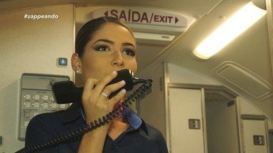 Aperte os cintos e embarque em uma viagem rumo aos bastidores de um voo - Equipe do 'Zapp' partiu de Manaus em destino a Tabatinga.