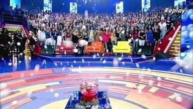 Desafio da bolinha no palco do Caldeirão! - Confira o desafio da bolinha, que acumulou quatro mil reais!