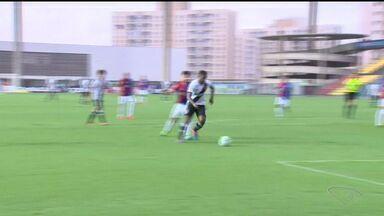 Vasco vence Paraná no Kléber Andrade, Cariacica, ES - Time encostou na liderança para a série B do Brasileirão.