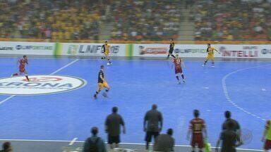 Orlândia perde do Sorocaba e fica mais longe da semifinal da Liga Nacional de Futsal - Time foi derrotado por goleada no primeiro jogo das quartas de final.