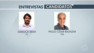 RJTV 2ª edição entrevista candidatos à prefeitura de Volta Redonda - Samuca Silva e Paulo Baltazar disputam o 2º turnos das Eleições 2016; ordem dos candidatos foi definida por sorteio.