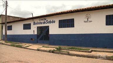 Creches são fechadas em Santa Inês, MA - Na cidade de Santa Inês creches estão sendo fechadas por causa da possível demissão de vários funcionários da Secretaria de Educação.
