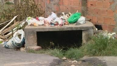 Continuam as buscas por menino que caiu em bueiro no domingo, em Manaus - Acidente ocorreu na Zona Norte da capital.