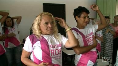 Ação preventiva do Outubro Rosa é realizada no Convento das Mercês em São Luís - Ação preventiva do Outubro Rosa é realizada no Convento das Mercês em São Luís.